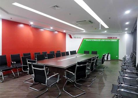 Thi công văn phòng Vision Technology