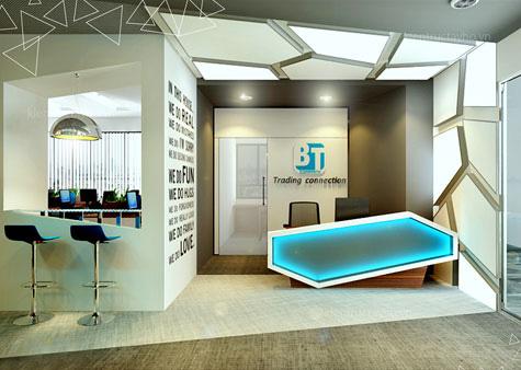 Thiết kế nội thất văn phòng BT Group