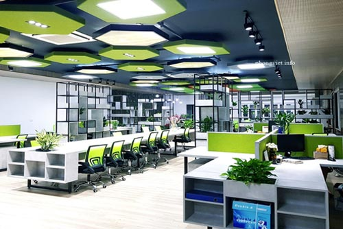 Thiết kế nội thất văn phòng Remark – Mỹ Đình